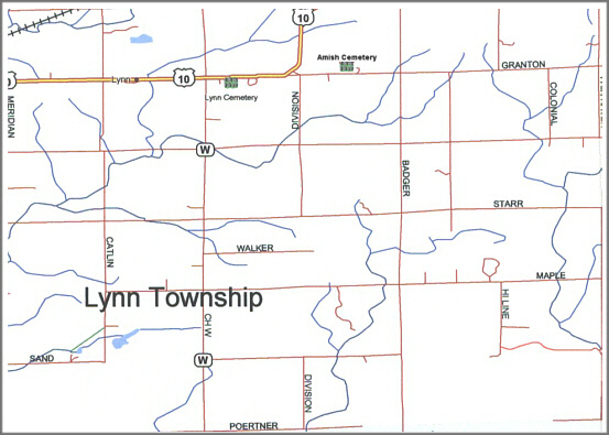 Amish Wisconsin Map.Index For All Cemeteries In Lynn Twp Clark Co Wi