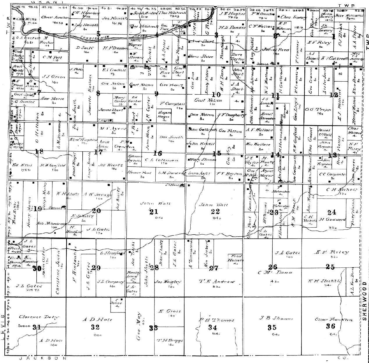 Clark County Wisconsin Maps Gazetteers - Property line survey map
